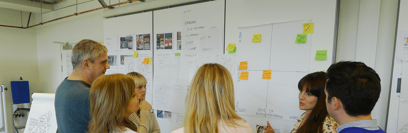 Building internal design thinking capability