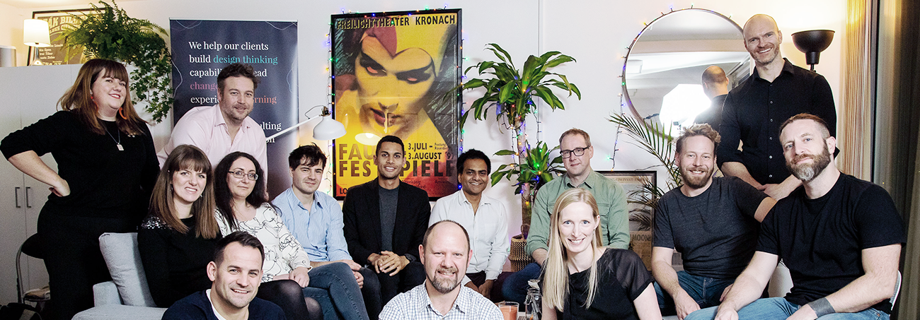 Photo: Sprintbase & THI team, London Offices