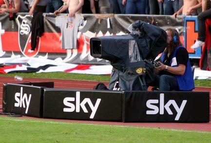 Sky Sports TV Cameraman