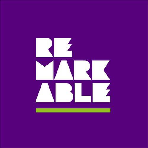 Remarkable logo